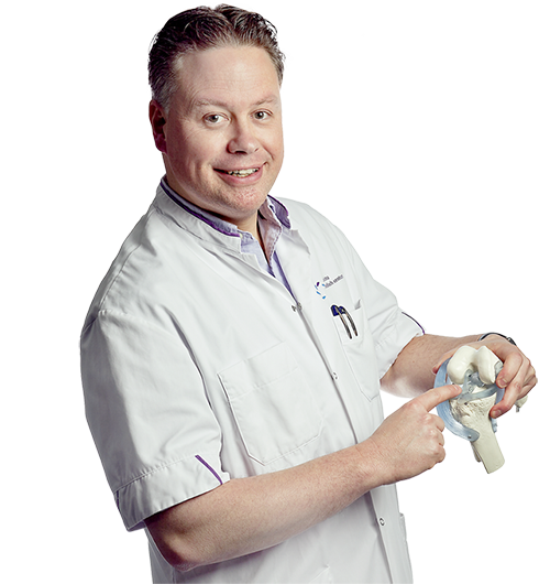 RPA Janssen, orthopaedic surgeon. I am a kneespecialist for high level sport injuries.