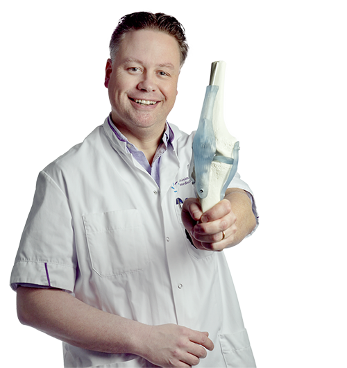 Rob PA Janssen, MD. I am an orthopaedic surgeon specialized in disorders of the knee